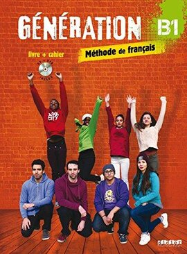 Generation B1. Livre + Cahier + CD mp3 + DVD (підручник + робочий зошит) - фото книги