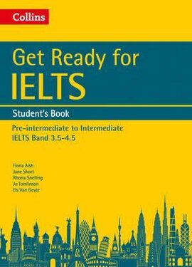 Get Ready for IELTS: Student's Book : IELTS 3.5+ (A2+) - фото книги