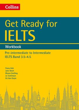 Get Ready for IELTS: Workbook : IELTS 3.5+ (A2+) - фото книги