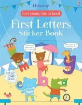 Get Ready for School. First Letters. Sticker Book - фото обкладинки книги