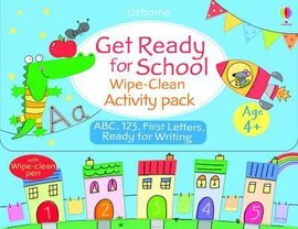 Get Ready for School. Wipe-Clean Activity Pack - фото книги
