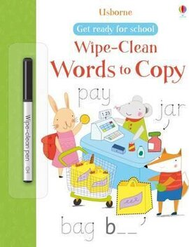 Get Ready for School. Wipe-Clean Words to Copy - фото книги