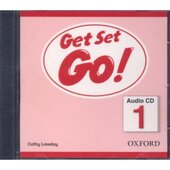 Get Set Go! 1: Class Audio CD (аудіодиск) - фото обкладинки книги
