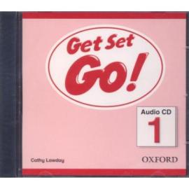 Get Set Go! 1: Class Audio CD (аудіодиск) - фото книги