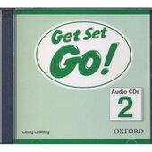 Get Set Go! 2: Class Audio CD (аудіодиск) - фото обкладинки книги