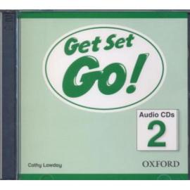 Get Set Go! 2: Class Audio CD (аудіодиск) - фото книги