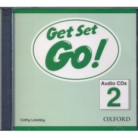 Get Set Go! 2: Class Audio CD (аудіодиск) - фото книги