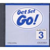 Get Set Go! 3: Class Audio CD (аудіодиск) - фото обкладинки книги
