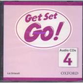 Get Set Go! 4: Class Audio CD (аудіодиск) - фото обкладинки книги