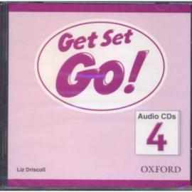 Get Set Go! 4: Class Audio CD (аудіодиск) - фото книги