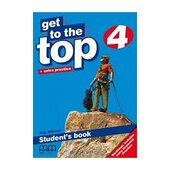 Get To the Top 4. Student's Book - фото обкладинки книги