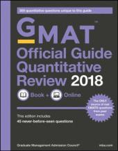 GMAT Official Guide 2018 Quantitative Review: Book + Online - фото обкладинки книги