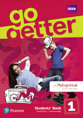 Go Getter 1 Student's Book with MyEnglishLab - фото обкладинки книги