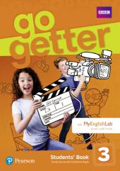 Go Getter 3 Student's Book with MyEnglishLab - фото обкладинки книги