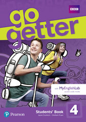 Go Getter 4 Student's Book with MyEnglishLab - фото обкладинки книги