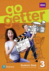 GoGetter 3 Students' Book - фото обкладинки книги