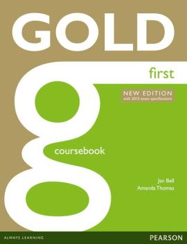 Gold First New Student's book (підручник) - фото книги