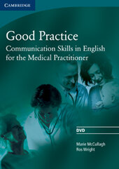 Good Practice DVD Communication Skills in English for the Medical Practitioner - фото обкладинки книги