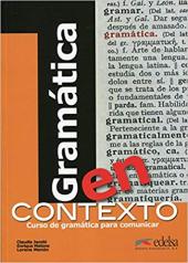 Gramatica en contexto. Libro - фото обкладинки книги