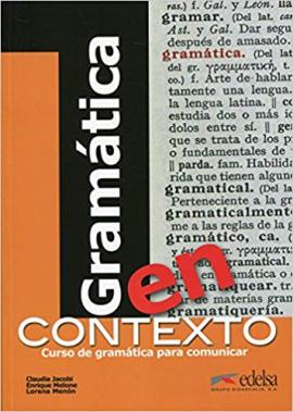 Gramatica en contexto. Libro - фото книги