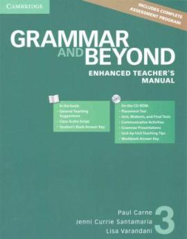 Grammar and Beyond Level 3. Enhanced Teacher's Manual with CD-ROM - фото книги