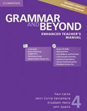 Grammar and Beyond Level 4. Enhanced Teacher's Manual with CD-ROM - фото обкладинки книги