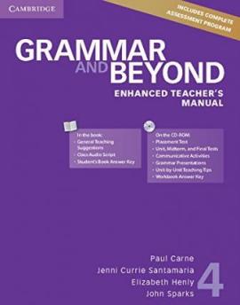 Grammar and Beyond Level 4. Enhanced Teacher's Manual with CD-ROM - фото книги