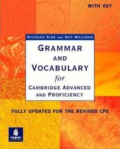 Grammar and Vocabulary for CAE & CPE with key. New Edition - фото обкладинки книги