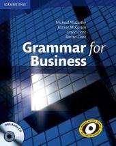 Grammar for Business with Audio CD (посібник з граматичної практики + диск) - фото обкладинки книги