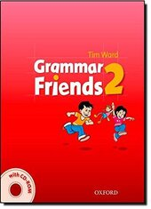Grammar Friends 2: Student's Book with CD-ROM (книга+диск) - фото обкладинки книги