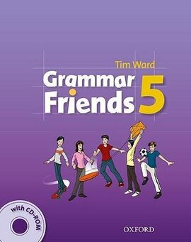 Grammar Friends 5: Student's Book with CD-ROM (книга+диск) - фото книги