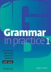 Grammar in Practice 1 (посібник із граматики+вправи+тести) - фото обкладинки книги