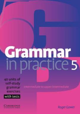 Grammar in Practice 5 (посібник із граматики+вправи+тести) - фото книги