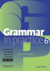 Grammar in Practice 6 (посібник із граматики+вправи+тести) - фото обкладинки книги