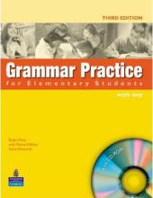 Grammar Practice for Elementary Student Book + Key + CD (підручник) - фото обкладинки книги