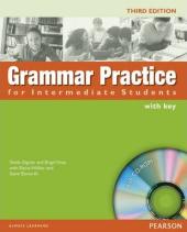 Grammar Practice for Intermediate Student Book + key + CD (підручник) - фото обкладинки книги