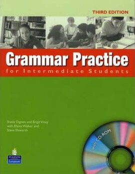Grammar Practice for Intermediate Student Book no key + CD (підручник) - фото книги