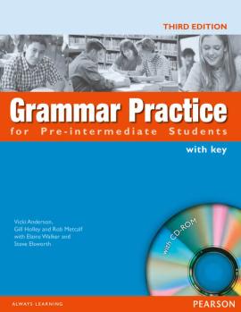 Grammar Practice for Pre-Intermediate Student Book with Key Pack (підручник) - фото книги