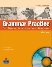 Grammar Practice for Upper-Intermediate Student Book + key + CD (підручник) - фото обкладинки книги