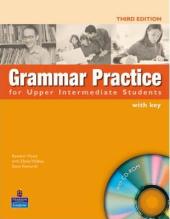 Grammar Practice for Upper-Intermediate Student Book + key + CD (підручник) - фото обкладинки книги