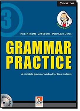 Grammar Practice Level 3 Paperback with CD-ROM: A Complete Grammar Workout for Teen Students - фото книги