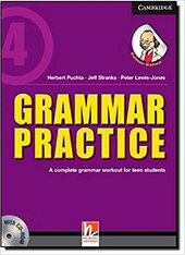 Grammar Practice Level 4 Paperback with CD-ROM: A Complete Grammar Workout for Teen Students - фото обкладинки книги