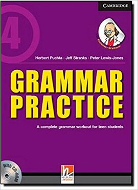 Grammar Practice Level 4 Paperback with CD-ROM: A Complete Grammar Workout for Teen Students - фото книги