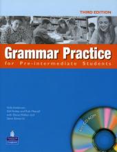 Grammar Practice Pre-Intermediate Book with CD without key (підручник+аудіодиск) - фото обкладинки книги