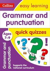 Grammar & Punctuation Quick Quizzes. Ages 7-9 - фото обкладинки книги
