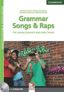 Grammar Songs and Raps. Teacher's Book with Audio CDs. For Young Learners and Early Teens - фото книги