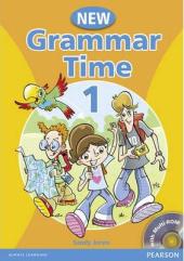 Grammar Time 1 New Edition Student Book + CD (підручник) - фото обкладинки книги