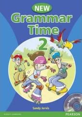 Grammar Time 2 New Edition Student Book + CD (підручник) - фото обкладинки книги