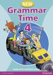 Grammar Time 4 New Edition Student Book + CD (підручник) - фото обкладинки книги