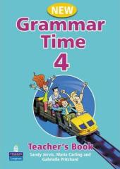 Grammar Time 4 New Edition Teachers Book (книга вчителя) - фото обкладинки книги